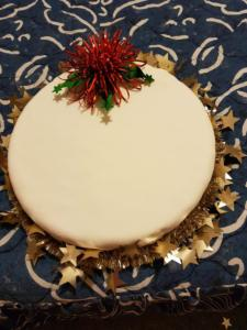 Christmas Cake2018The creation of Mary Dowell