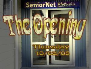 Motueka S.N.B. Opening